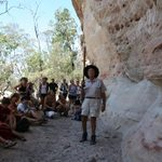 Indigenous Australian Rock Painting