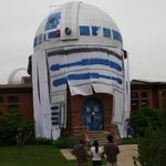 R2D2 lived at Carleton June 2, 2010