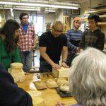 Bidou Yamaguchi with students