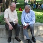Diethelm Prowe and William Woehrlin
