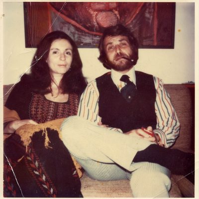 Ruth and Carl Weiner in the 1970s