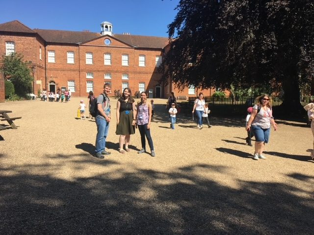 Carleton students at the Gressenhall Farm & Workhouse Museum in Norfolk, England