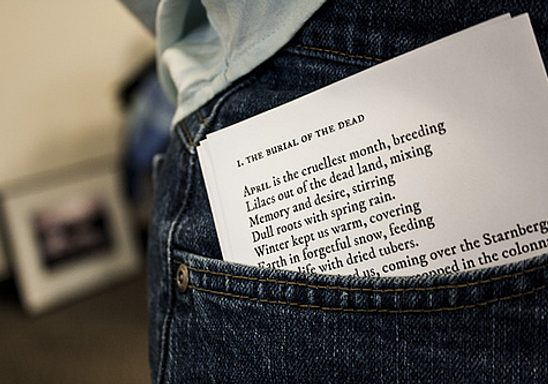 National Poem in Your Pocket Day