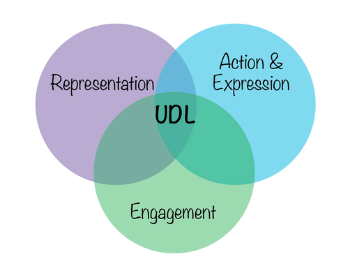 Universal design for learning venn diagram.