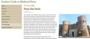 Carleton Guide to Medieval Rome