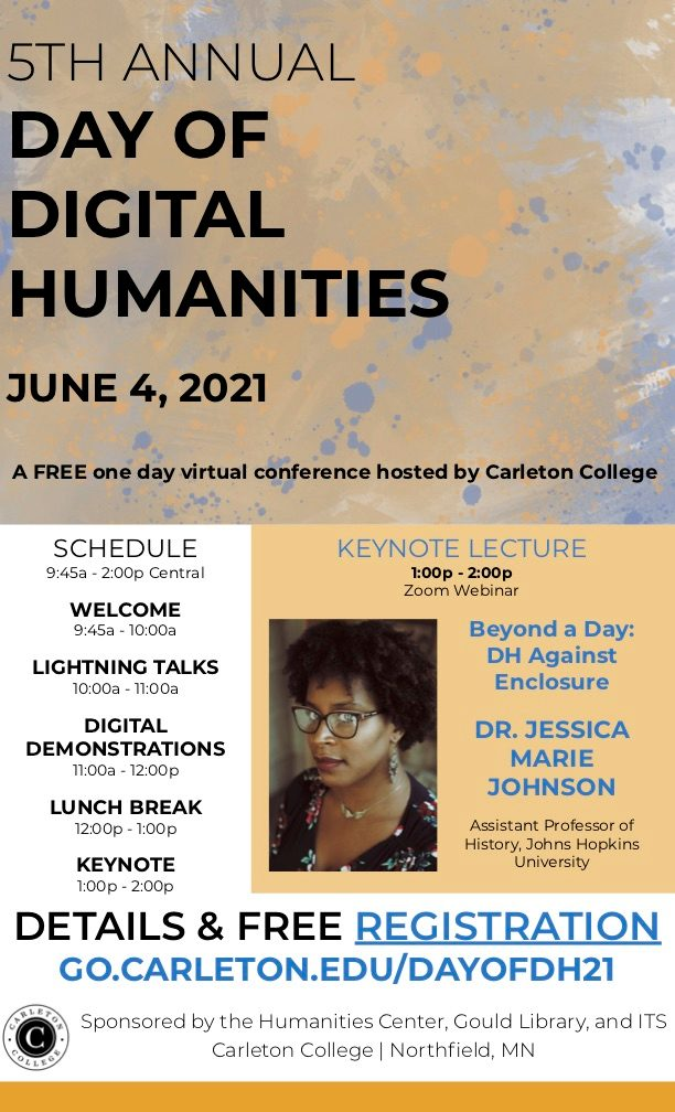 Day of DH 2021 Poster