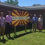 Students and Professors at Dakotah Language Institute