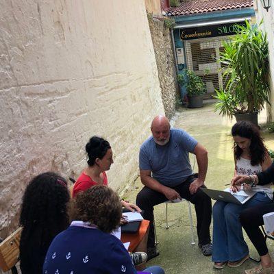 Dr. Palmar Alvarez-Blanco and community partners