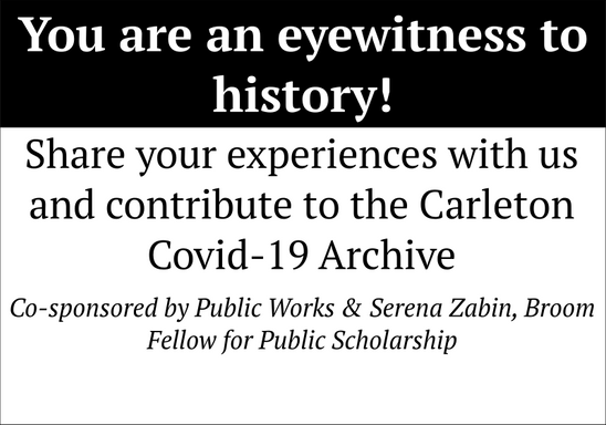 The Carleton Covid-19 Archive
