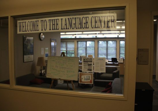 Language Center Help Desk
