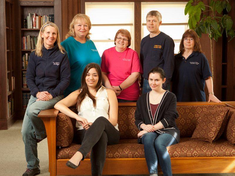 Custodians with scholarship recipients