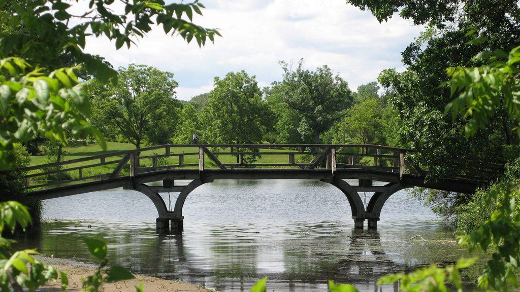 Bridge Over Lyman Lakes