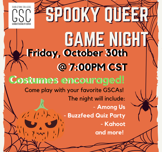 Spooky Queer Game Night!