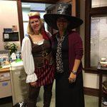 Admissions Staff-Linda Mueller and Rhemi Abrams Fuller