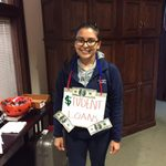 Sabrina Velasco '18 - 1st Trick-or-Treater in Admissions