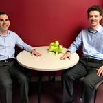 Twinning-Profs Ben Keefer (Economics) and Jonathan Lafky (Economics)
