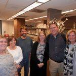 Allie, Ann, Professor of Chemistry, David Alberg '85, Linda, Russ and Tami