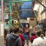 Mitch Miller describing how the boiler operates.