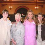 Stephanie, Ruth Anna, Carleen, and Kelly