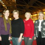The SAC Special Events Committee: Liz, Robbie, Vonnie, and Christine (from left to right)