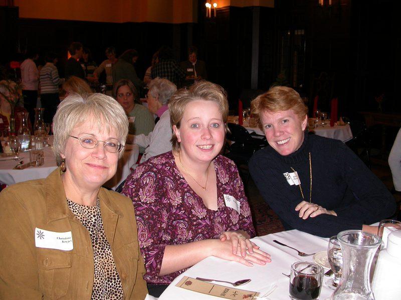 Christine, Stephanie, and Kris