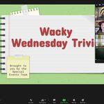 Welcome to Wacky Wednesday Trivia