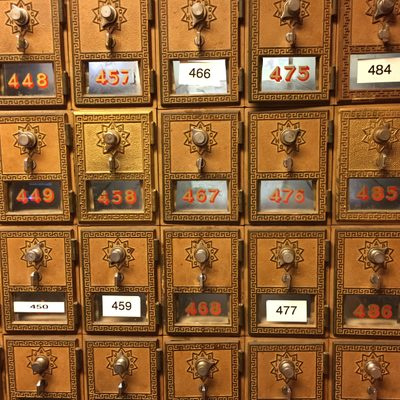 student post office boxes