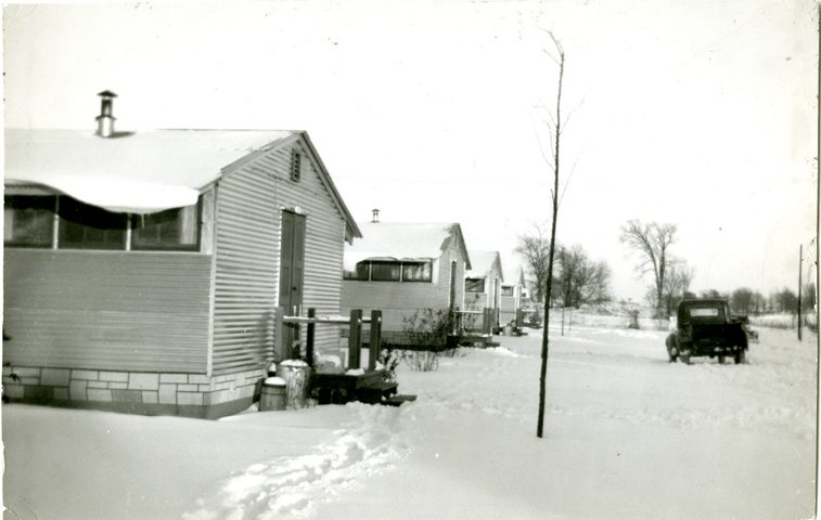 A housing unit at Pine Hill Village