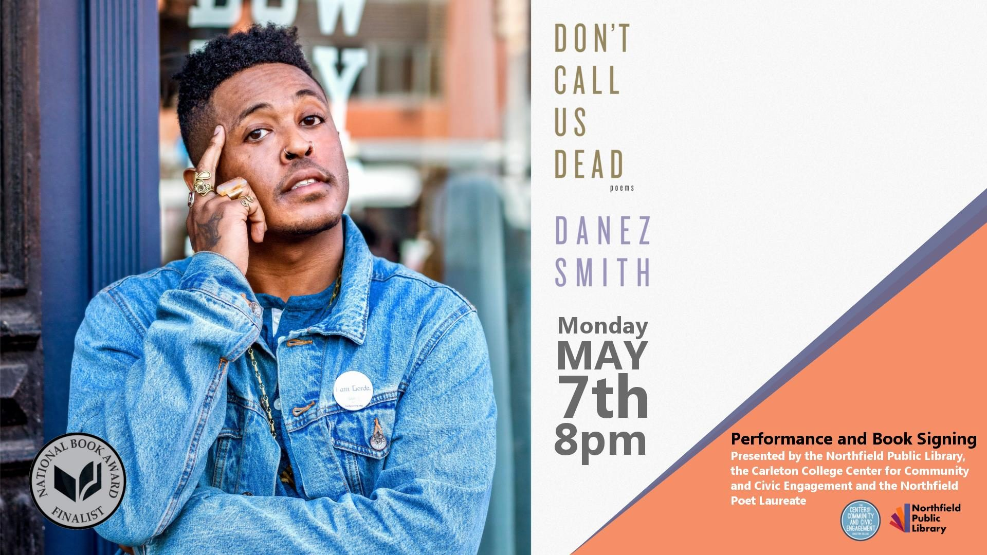 """""""Don't Call Us Dead"""", poems by Danez Smith"""