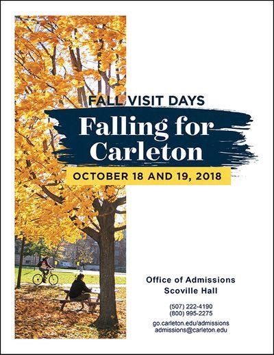Falling for Carleton Brochure