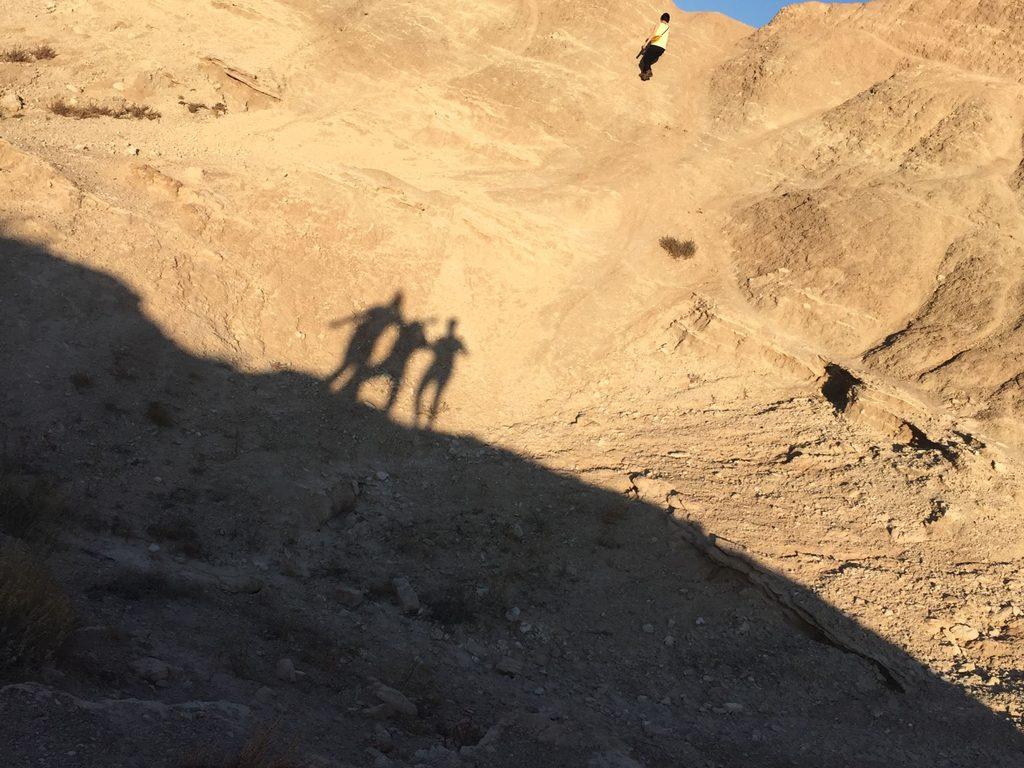 shadows on the badlands