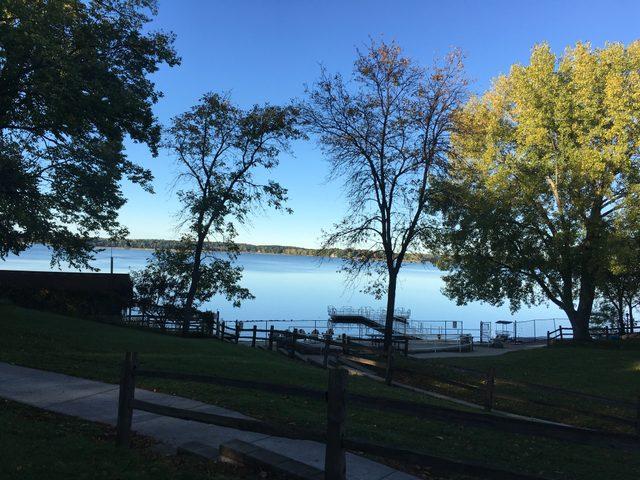 a lake