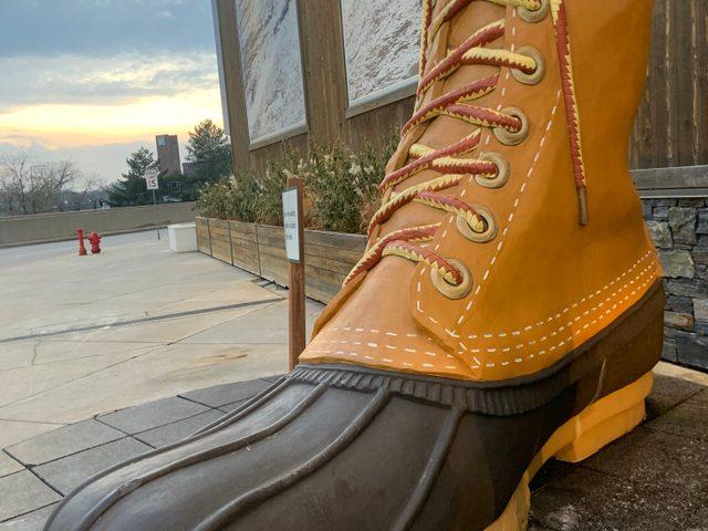 Big L.L. Bean boot