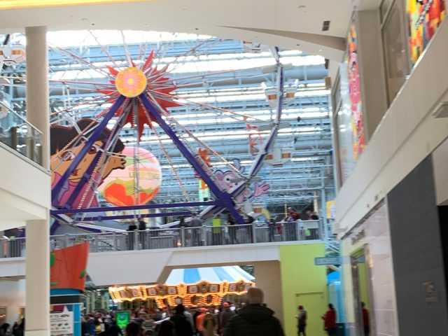 Ferris wheel at the Mall of America