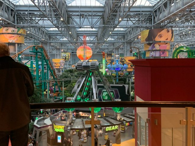 Theme park at Mall of America