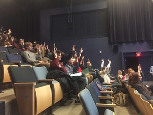 hands up for caucus!