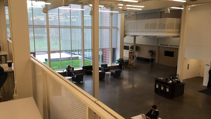Weitz Commons from above