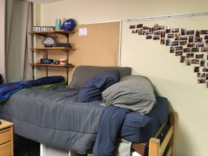 A Myers dorm room