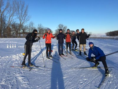 Example of a XC skiing event.