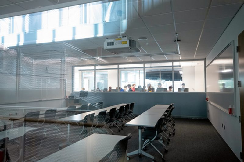 Classroom in Anderson Hall