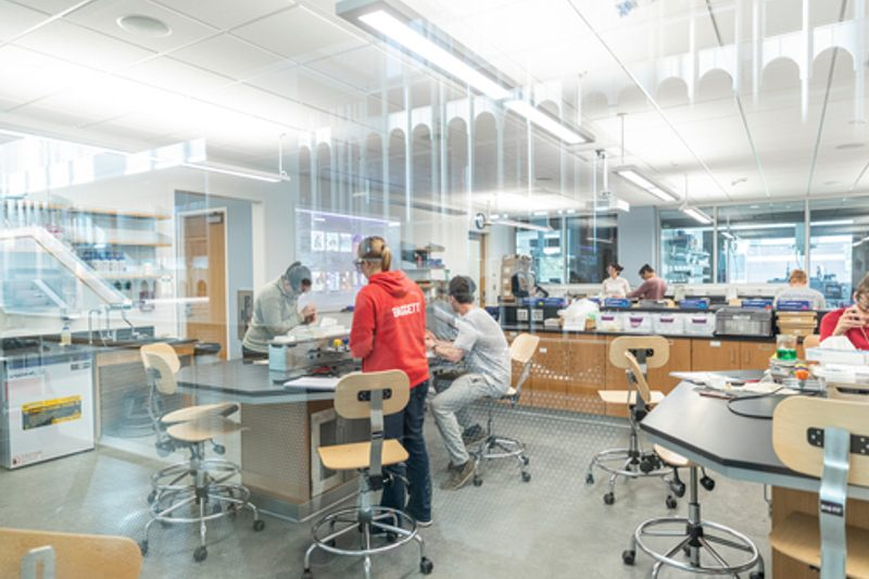 Lab in Anderson Hall