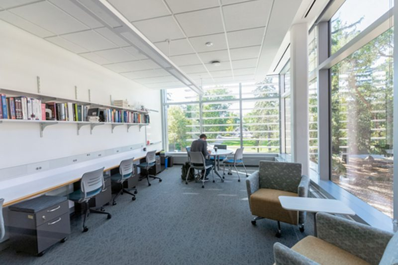 study space in anderson hall