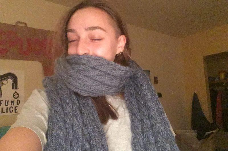 finished my knitting!