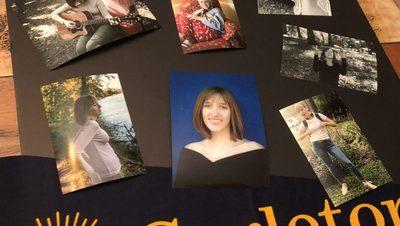 Andriana's Graduation Board