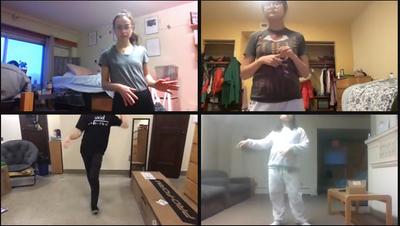 online dance practice