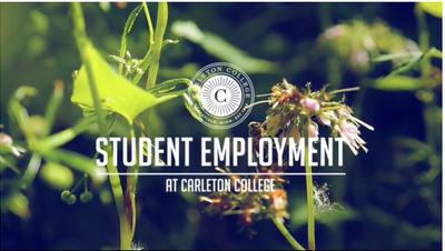 Student Employment Banner