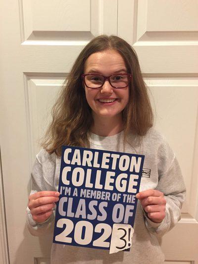 Greta Carleton Acceptance
