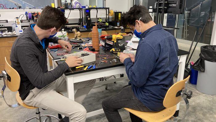 Carleton Robotics members