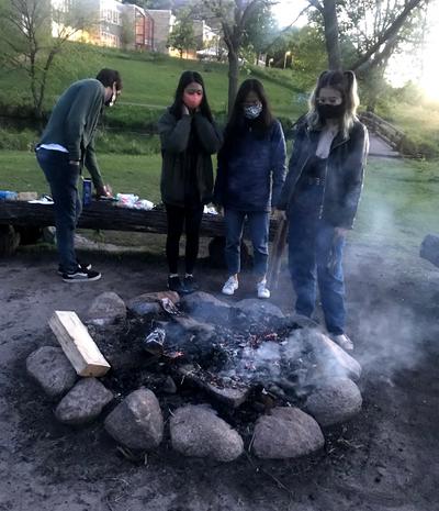 Nourse bonfire