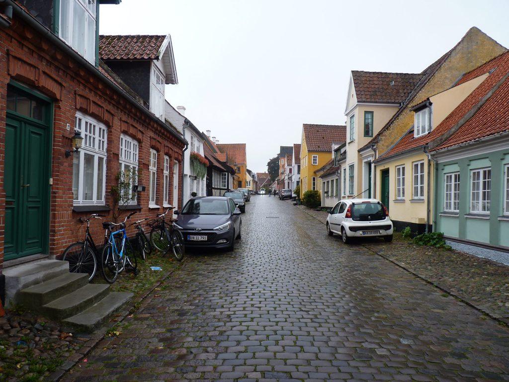 A street in Ærøskøbing.